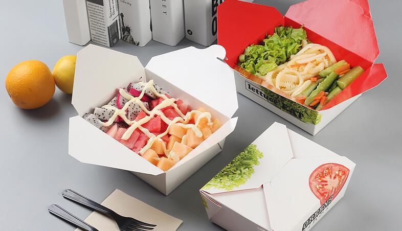 食品包装盒的设计,选纸.图片